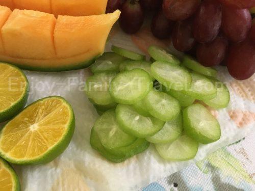サンキョーガーデンの果物