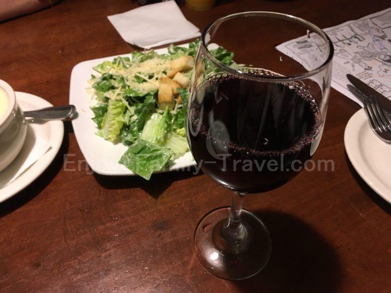 グアム・トニー・ローマTony Roma'sのドリンク・ワイン