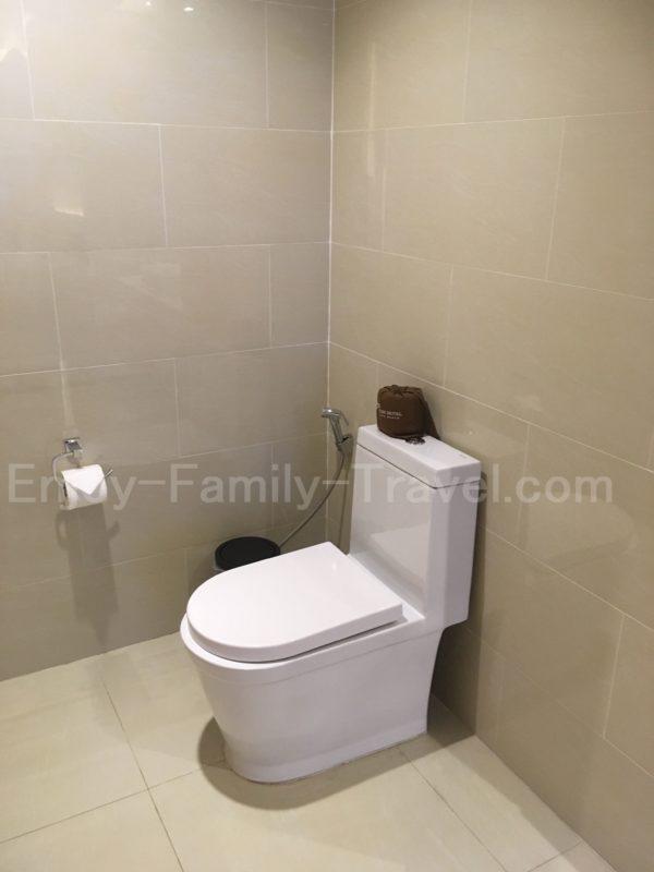 ベトナム・ダナン・TMSホテル・トイレ