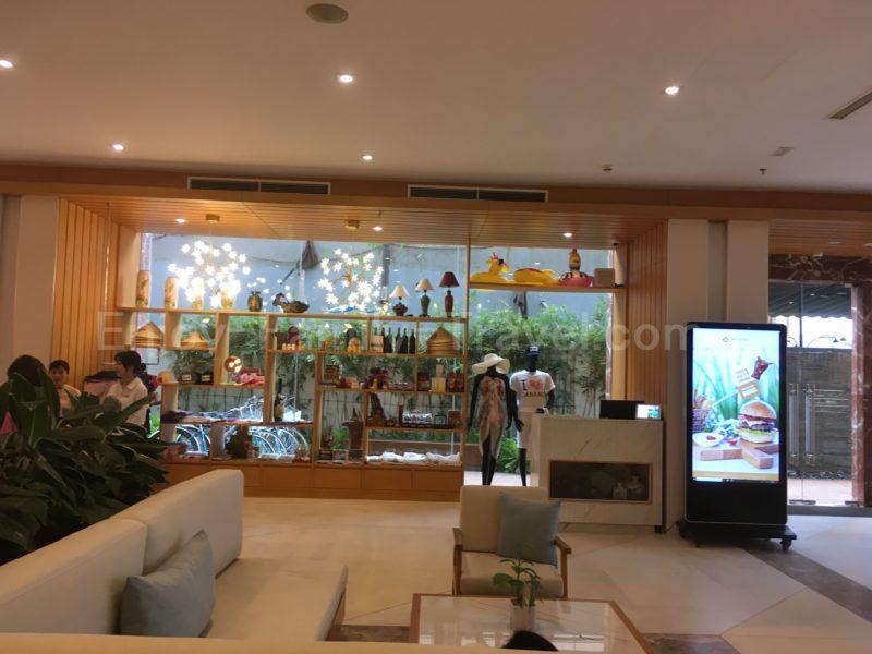 ベトナム・ダナン・TMSホテル1Fにあるお土産物売り場