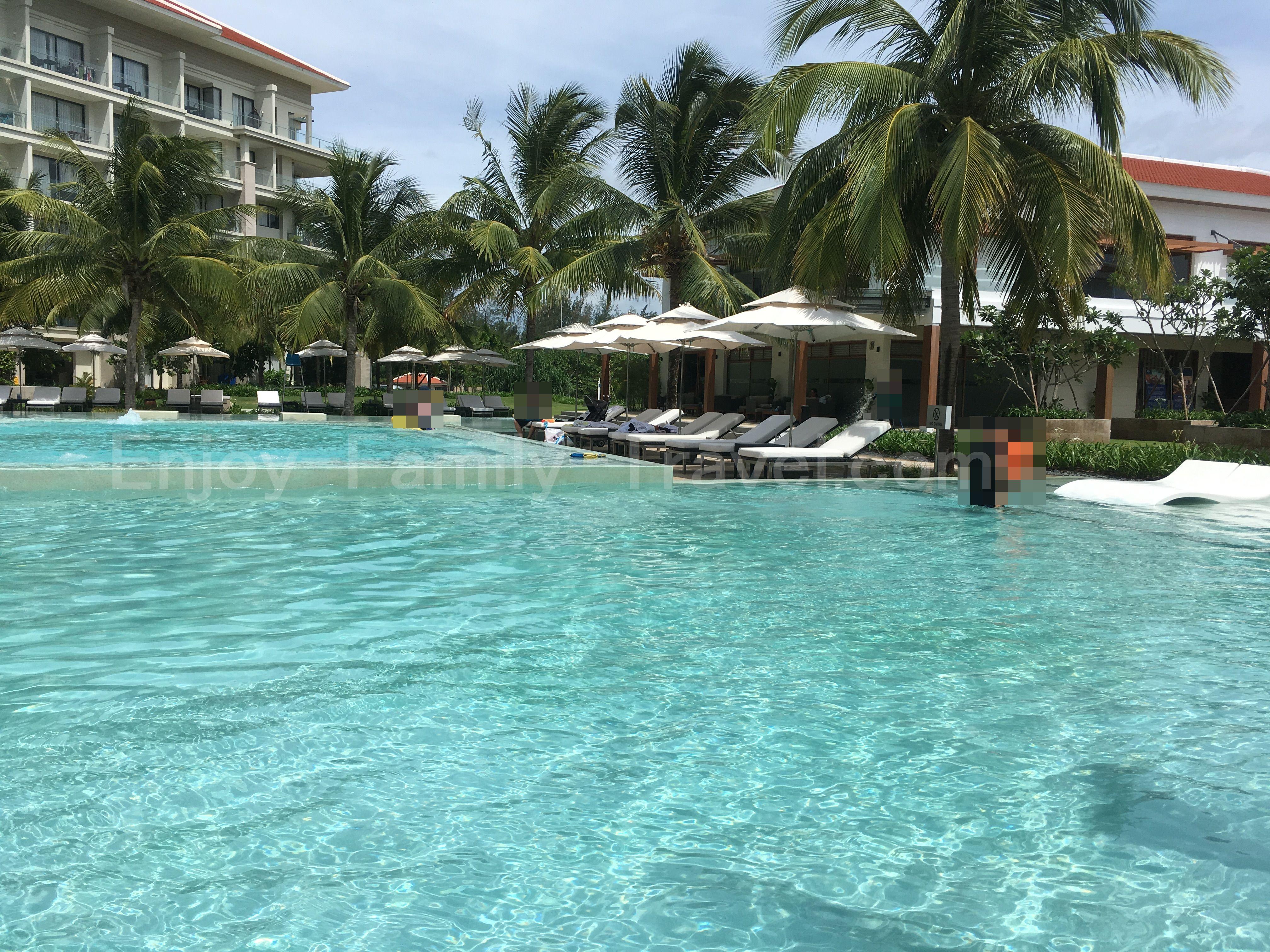 ベトナム・ダナン、ジ・オーシャン・リゾート・ヴィラ、ジ・オーシャン・リゾート・スイートアパートメントのプール