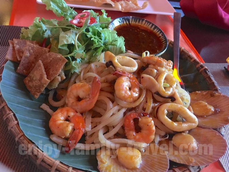 ベトナム・ダナン・ランタンタウンレストラン