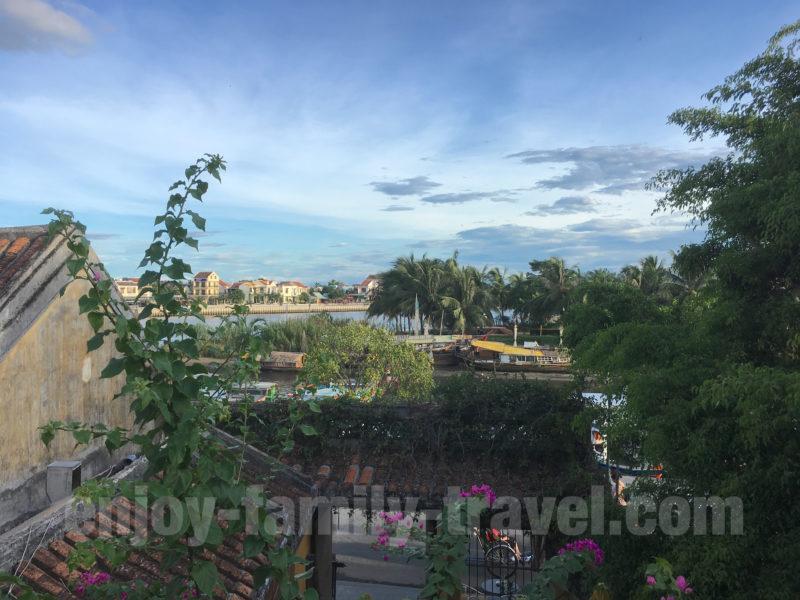 ベトナム・ダナン・ランタンタウンレストランからの眺め