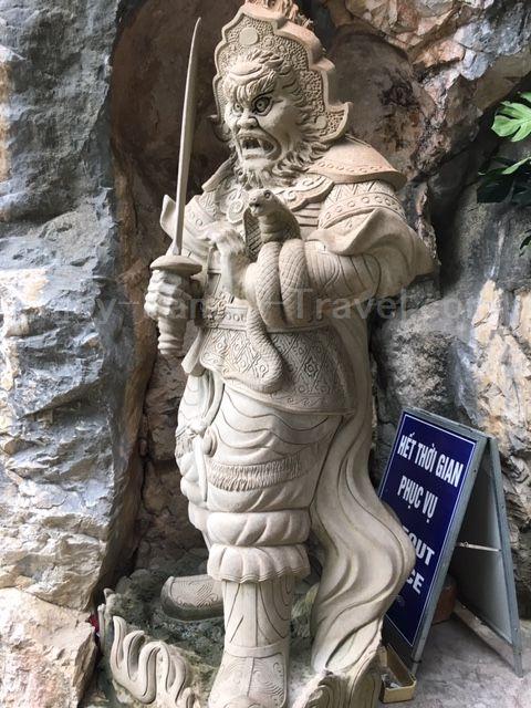 ベトナム・ダナン・五行山入り口