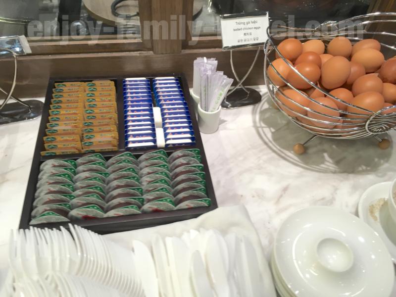 ベトナム・ダナンエアポートラウンジCIP ORCHID LOUNGEのバター類